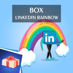 linkedin rainbow